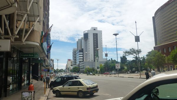 Samora Machel Avenue in Harare