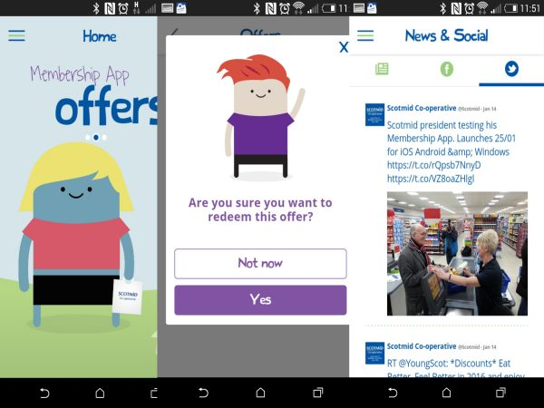 Scotmid's app will have a range of news and offers for members
