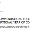 New policy recommendations help to further co-operative development