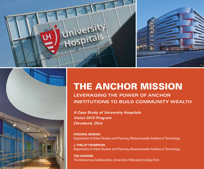Anchor institutions could help to further co-operative