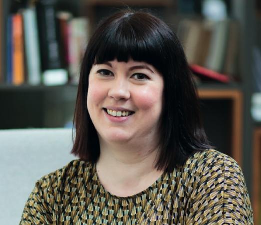 Co-operative archivist Sophie Stewart