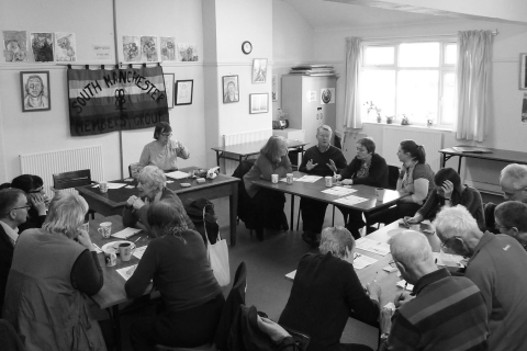 The first 'co-operative cluster' meeting in south Manchester