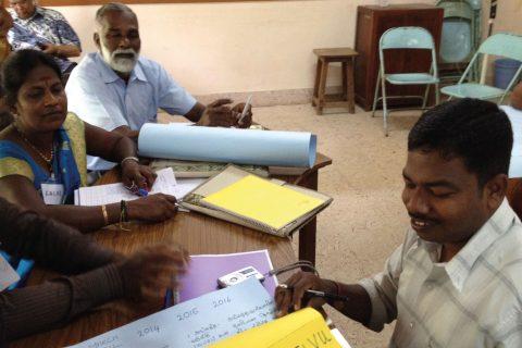 The Co-operative College led a workshop for Sri Lankan co-operators