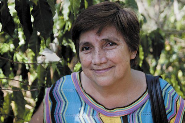 Teresa Rivera Palacios, coffee farmer and president of Dantanli co-operative, Nicaragua. (Photograph: Eduardo Martino)
