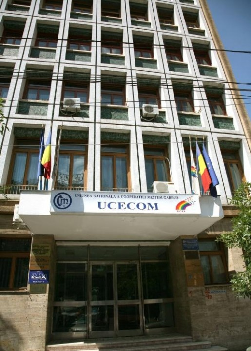 The National Union of Handicraft and Production (UCECOM) in Bucharest, Romania