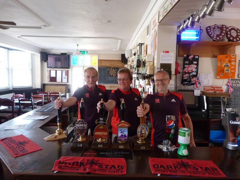 Norton volunteers at the community pub