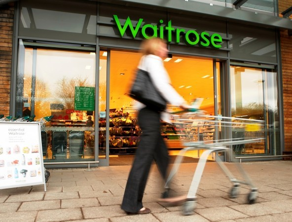 Waitrose boosted sales by 3.4%