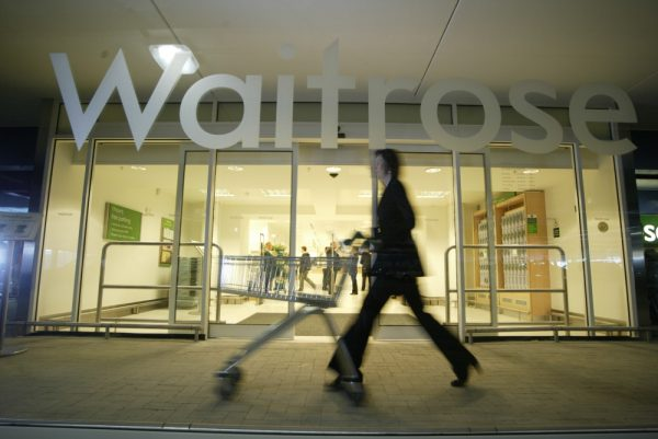 Waitrose achieved a record market share in the figures