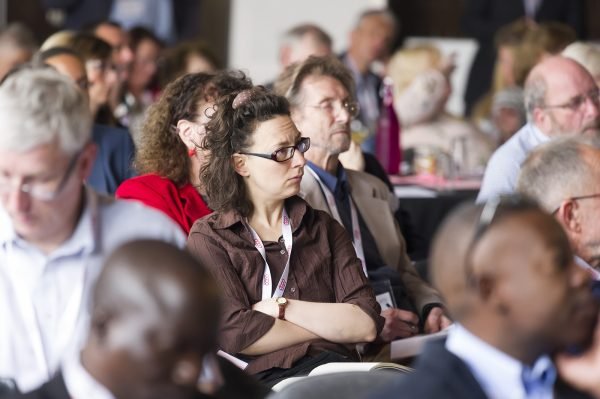 Delegates at Congress, this year held at Unity Works in Wakefield [photo: Co-operatives UK]