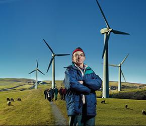 David Eastlick, chair of Baywind Energy Co-operative