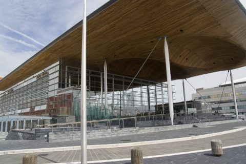 The Welsh Assembly building in Cardiff. The Co-operative Party's Welsh Assembly members have urged the Welsh government to continue its support of co-ops.