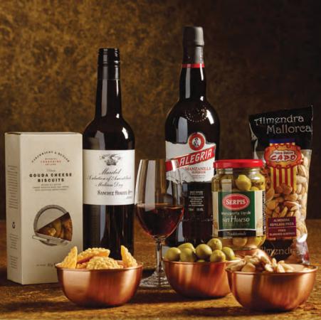 The Wine Society's Sherry Aperitif case