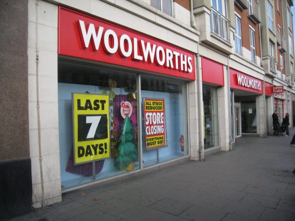 The final Woolworths store closed down in January 2009 [photo: Wet Web Work/Flickr]