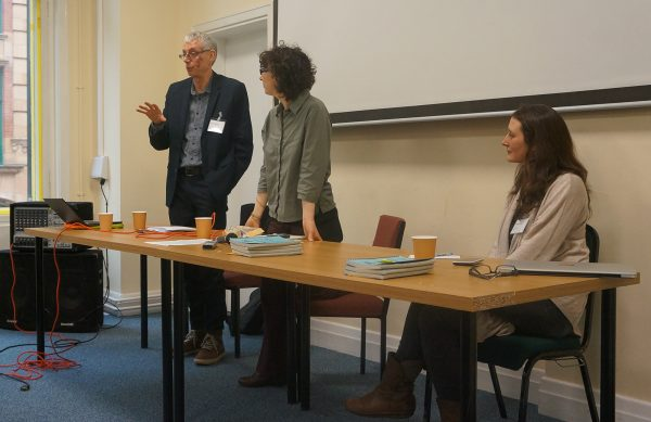 (l-r) Paul Gosling, Cath Muller and Maria Young