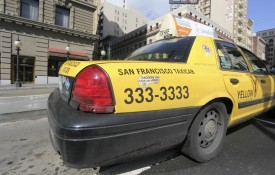 San Francisco's Yellow Cab Co-operative operates a third of the city's cabs, but is struggling to fend off the huge rise in ride share apps