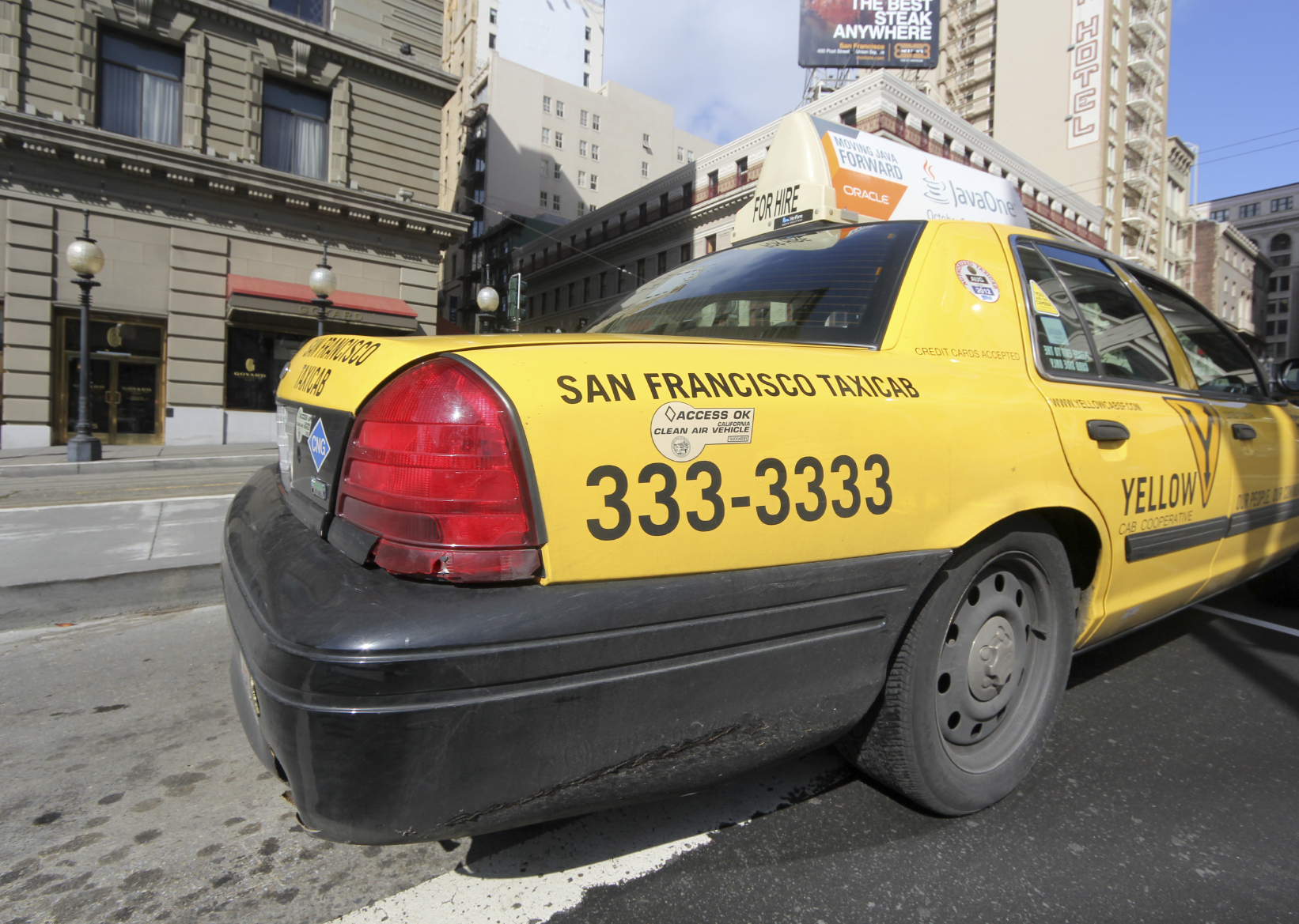 Uber victory as San Francisco taxi co-op files for