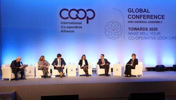Yuill Herbert (third from left) at the recent Alliance Global conference in Antalya