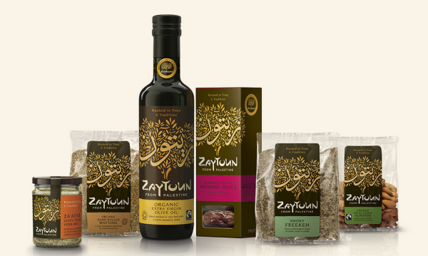 Zaytoun's products are sourced from independent Palestinian producers